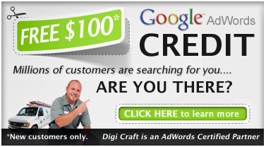 Free $100 Advertising Credit