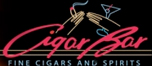 Cigar bar was looking for an upscale look to cater to middle age successful business people to network during cocktail hour.