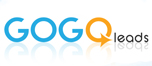 GOGO Leads wanted business colors as well as moving forward / growing look to business needs.